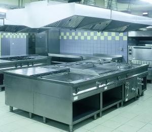 Impianto di aspirazione cucine professionali