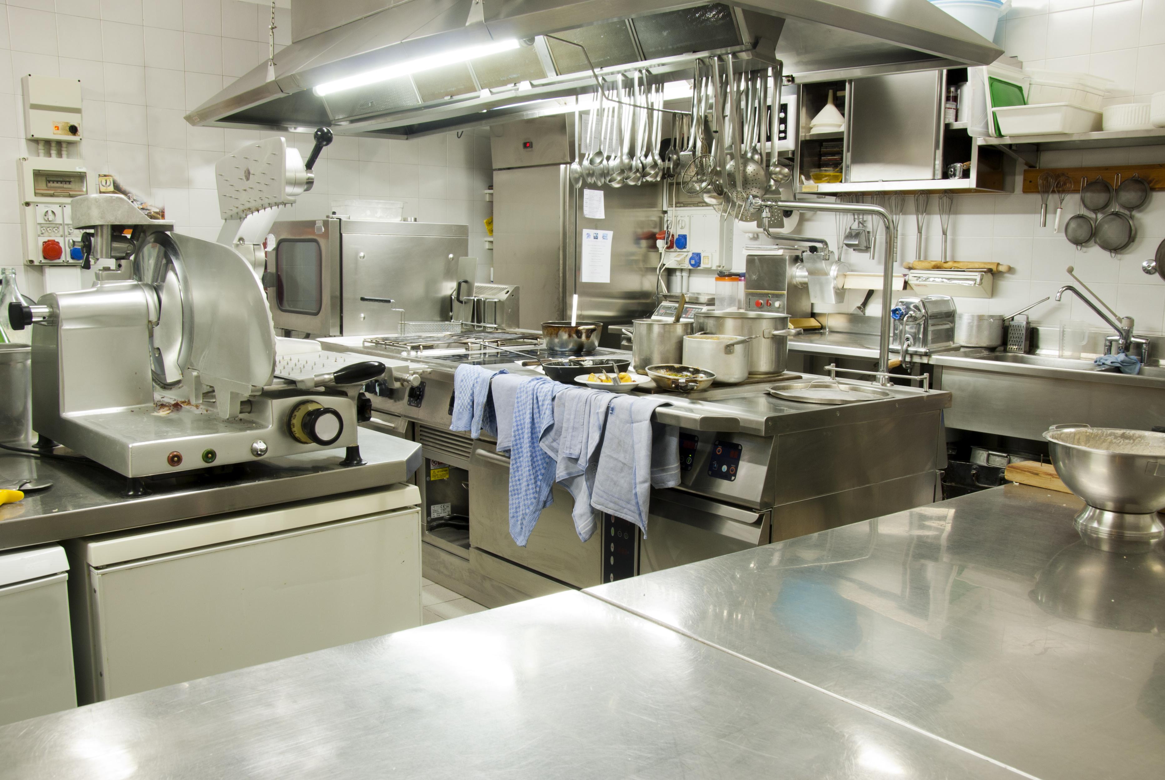 le linee guida per lallestimento delle cucine professionali