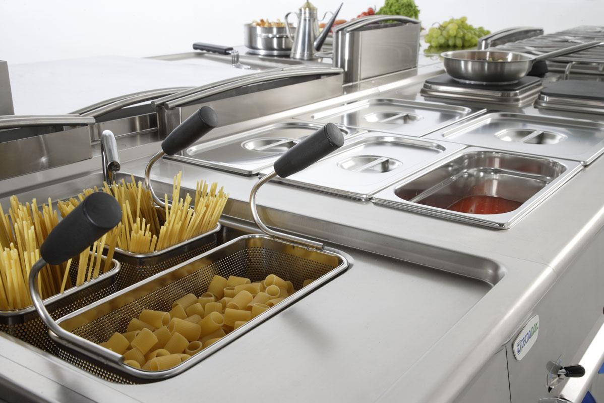 Cuocipasta professionali caratteristiche e modelli - Cucine professionali per ristoranti ...